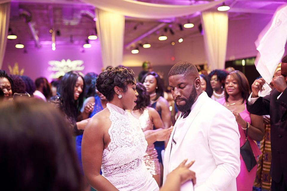 Dallas Ghanian Wedding