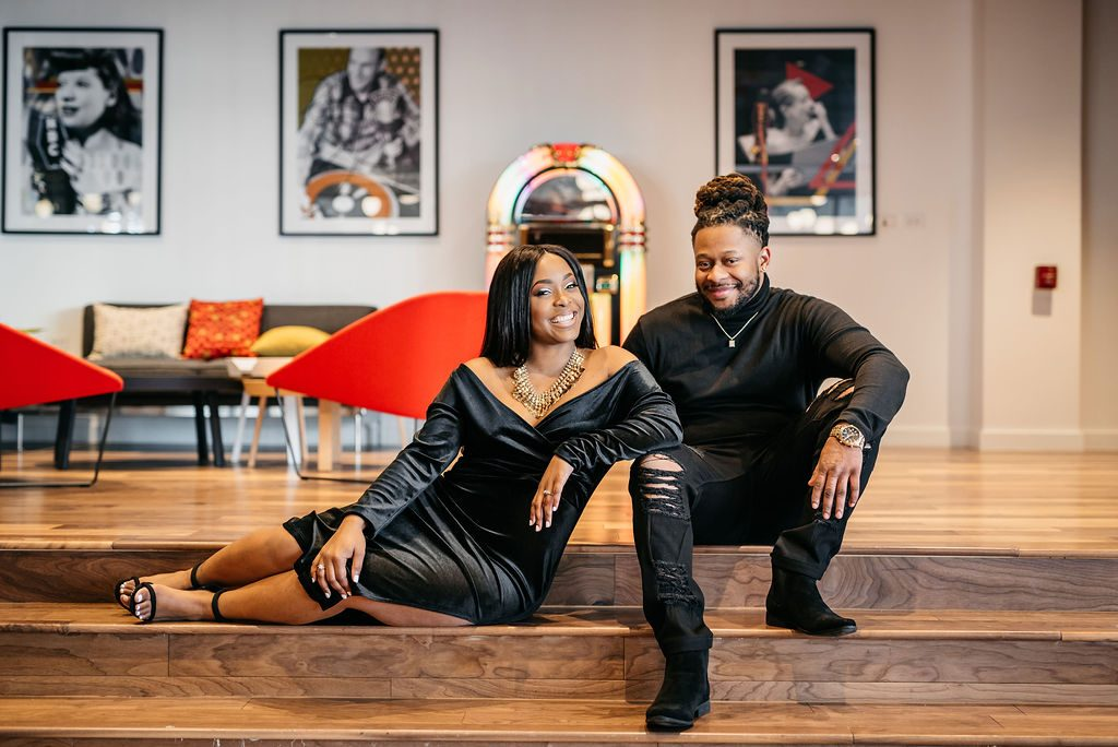 Memphis Engagement Session - Hotel Indigo 2 Dallas Wedding Photographer
