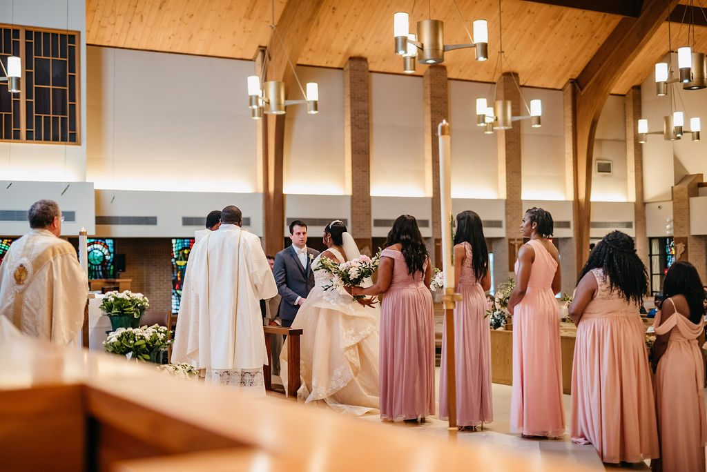 Daniel & Ashley - St Patrick Catholic Church - Dallas Nigerian Wedding 5 Dallas Wedding Photographer