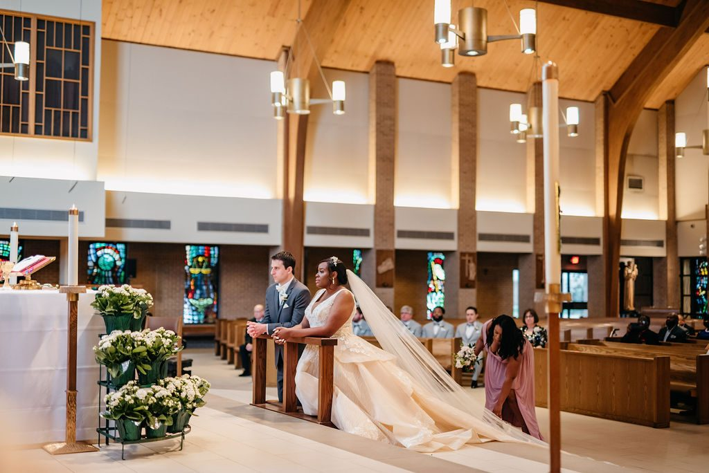 Daniel & Ashley - St Patrick Catholic Church - Dallas Nigerian Wedding 3 Dallas Wedding Photographer