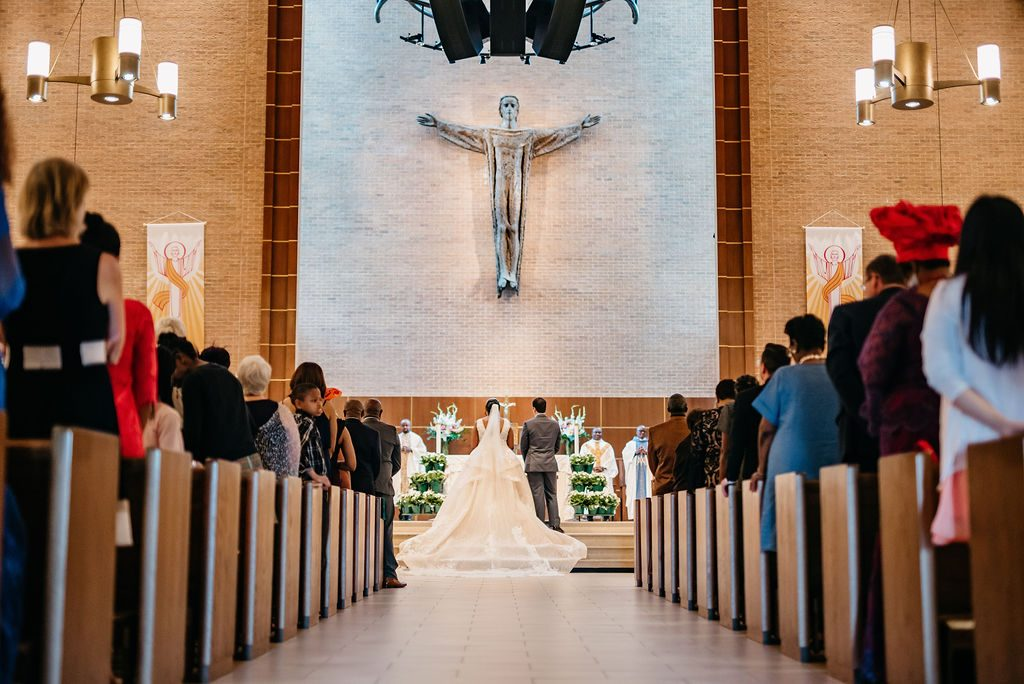 Daniel & Ashley - St Patrick Catholic Church - Dallas Nigerian Wedding 6 Dallas Wedding Photographer