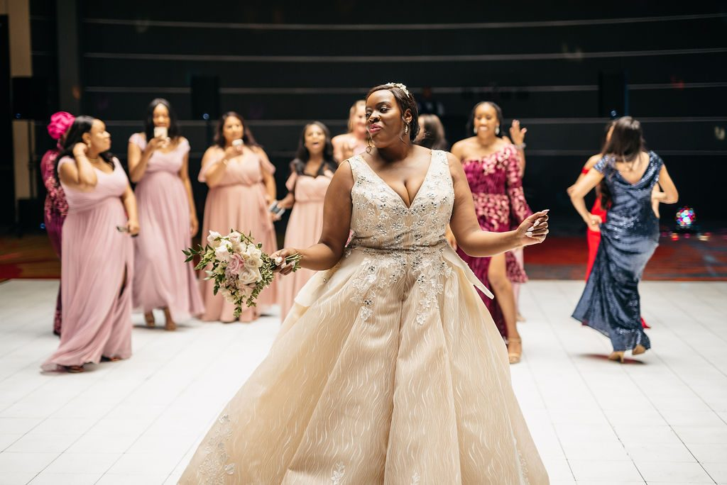 Daniel & Ashley - St Patrick Catholic Church - Dallas Nigerian Wedding 19 Dallas Wedding Photographer