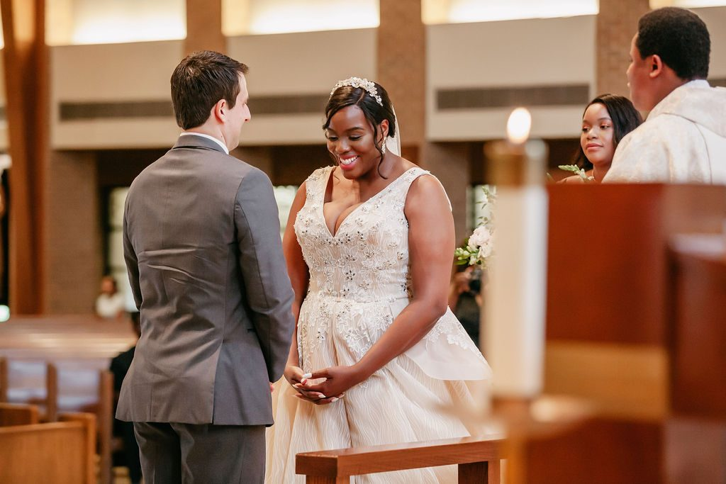 Daniel & Ashley - St Patrick Catholic Church - Dallas Nigerian Wedding 8 Dallas Wedding Photographer