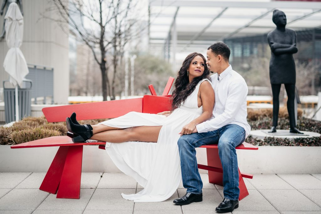 Dallas Modern Engagement Session 1 Dallas Wedding Photographer