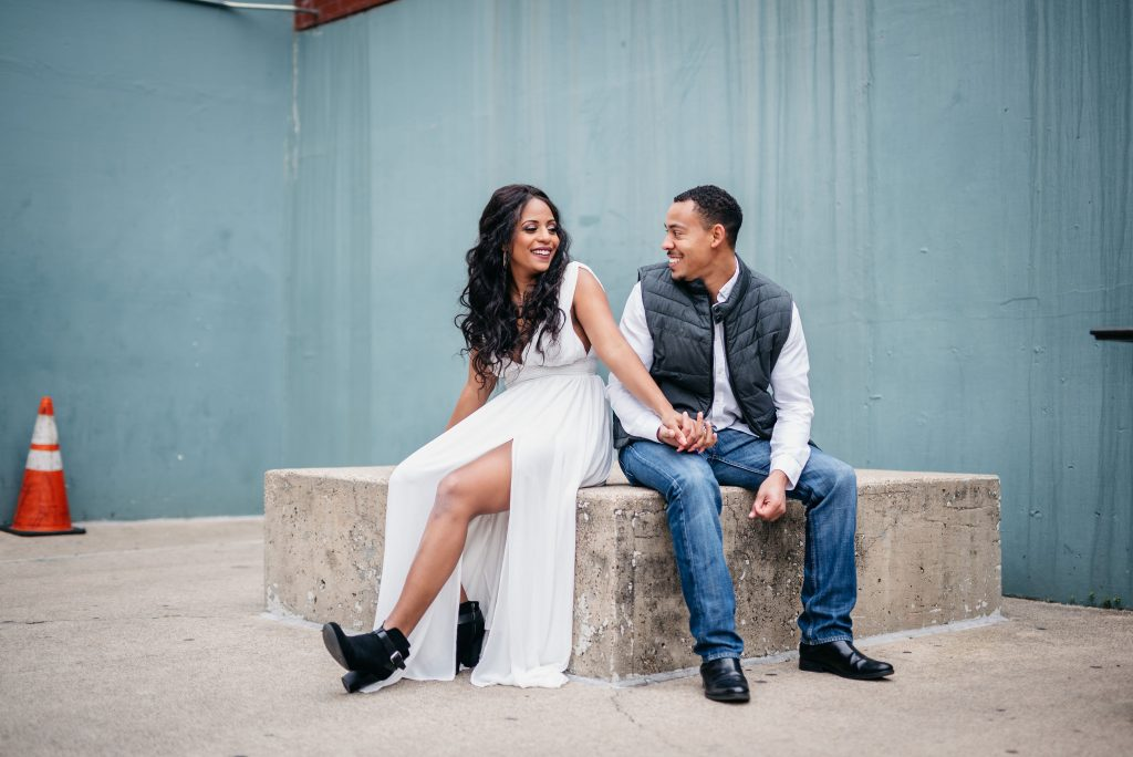 Dallas Modern Engagement Session